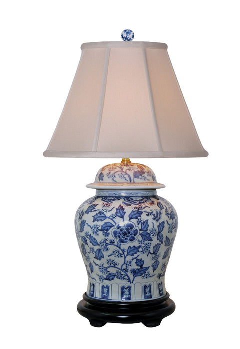 Porcelain Everdon Temple Jar Lamp