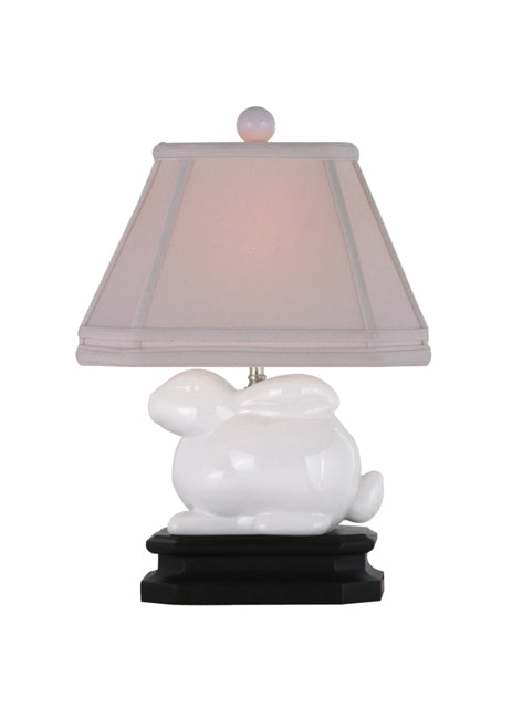 Porcelain White Bunny Table Lamp