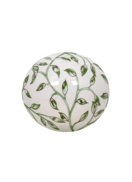 Mini Porcelain Greeny Floral Table Lamp