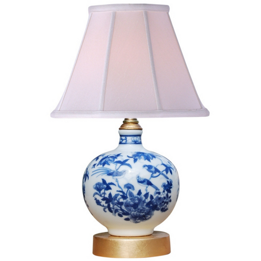 Mini Porcelain Blue and White Table Lamp