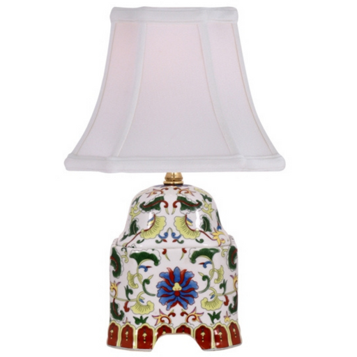 Mini Porcelain Temple Accent Table Lamp