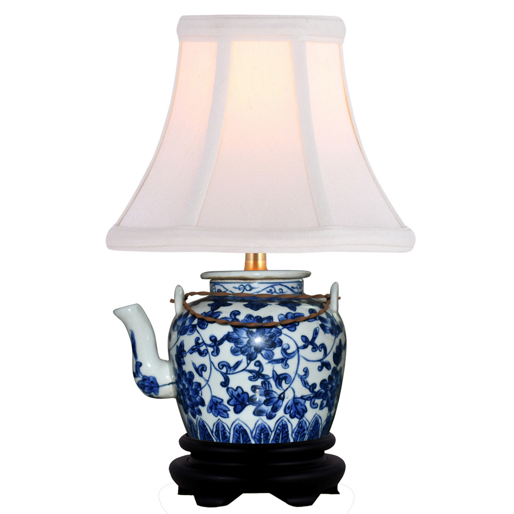 Mini Porcelain Teapot Table Lamp