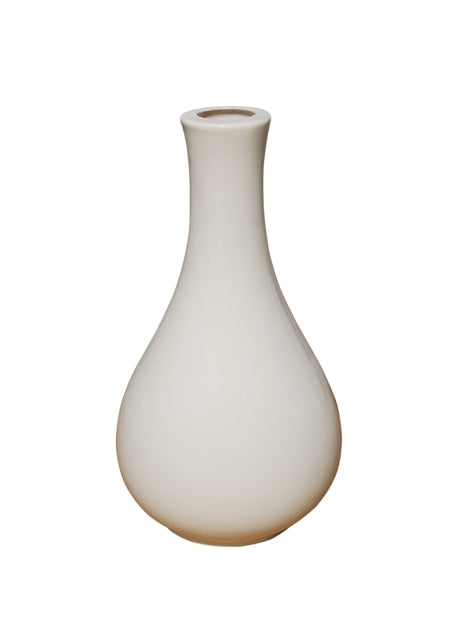 Porcelain White  Dove Vase