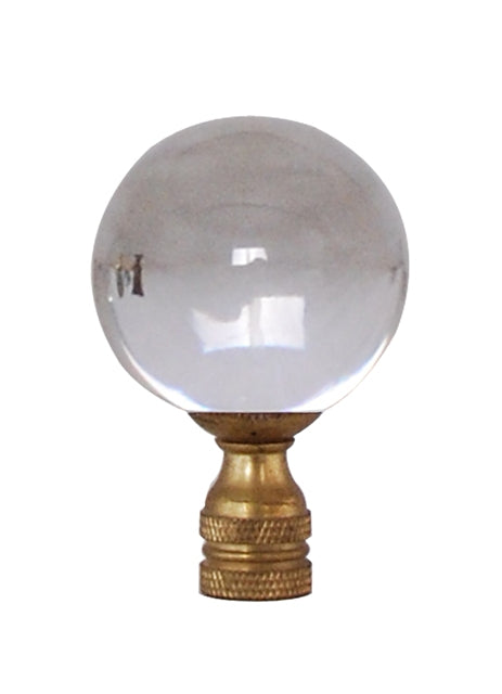 Small Crystal Ball Finial