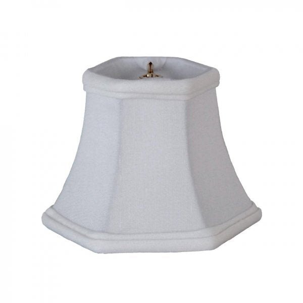 Mini Hexagon Bell in Silk Lampshade