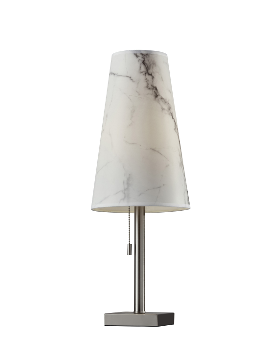 White Marble Ava Table Lamp