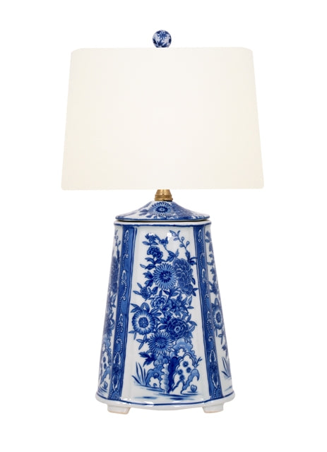 Porcelain B/W Table Lamp