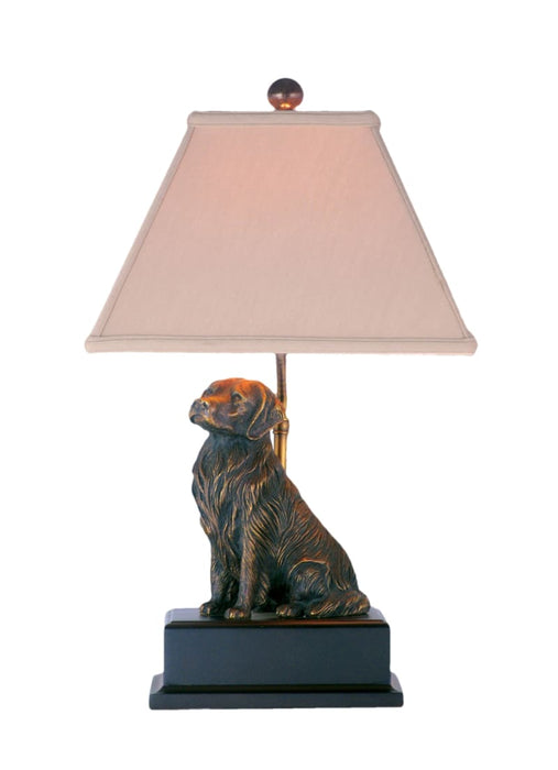 Bronze Golden Retriever Table Lamp Lighting