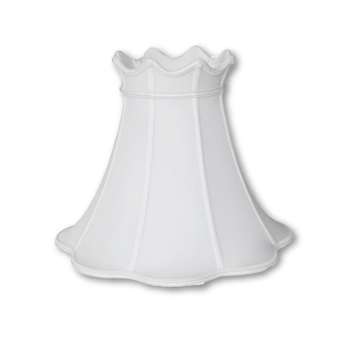 Crowned Bell With Braided Trim Lampshade Lamp Shades