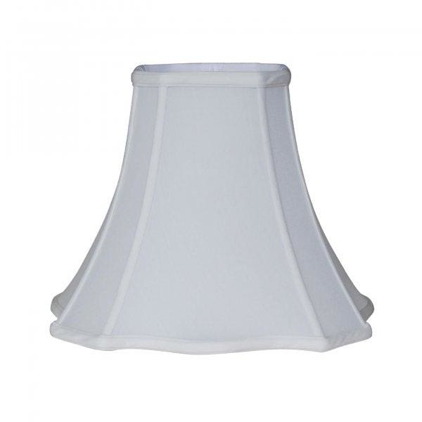 Cut Corner Scallop Square Bell Lampshade Lamp Shades
