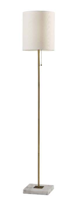 Fiona Floor Lamp Antique Brass