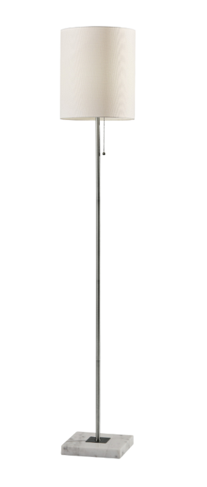 Fiona Floor Lamp Brushed Steel