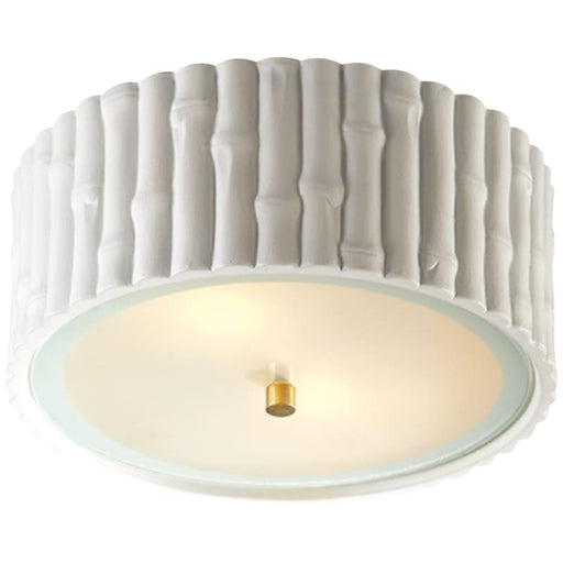 Frank Small Flush Mount With Frosted Glass Lighting