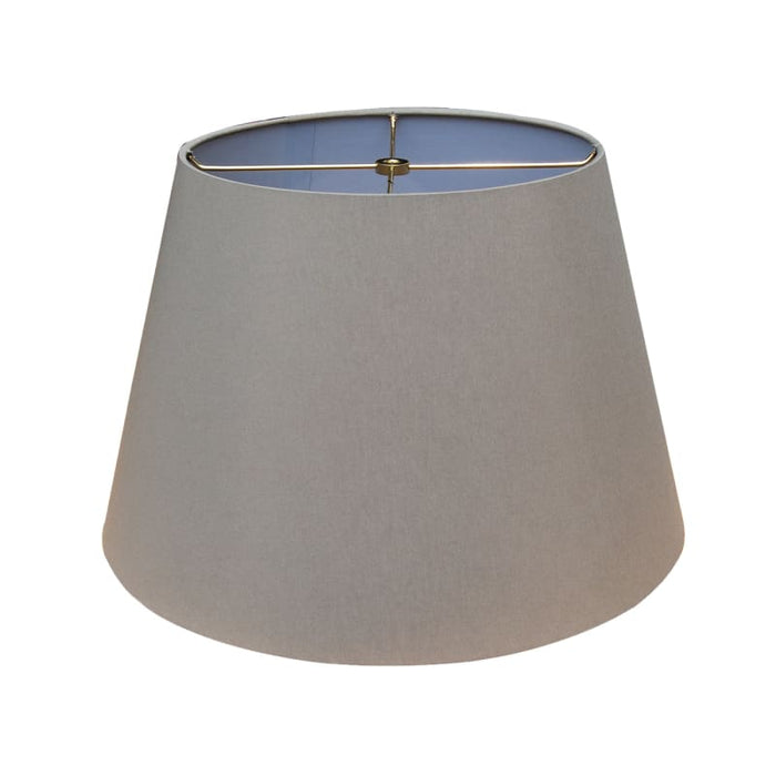 Grey British Empire Hand Rolled Edge Hardback Lamp Shade Lamp Shades