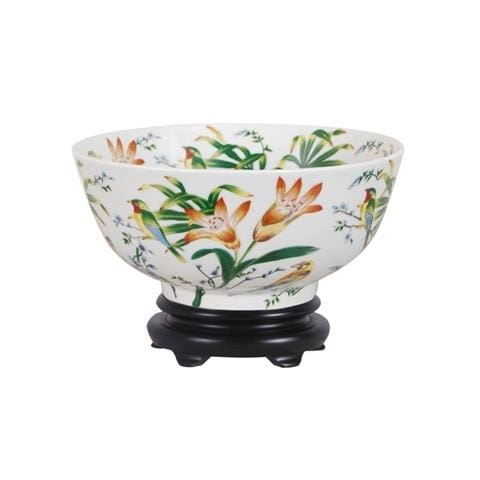 Multicolor Porcelain Bowl Home & Garden