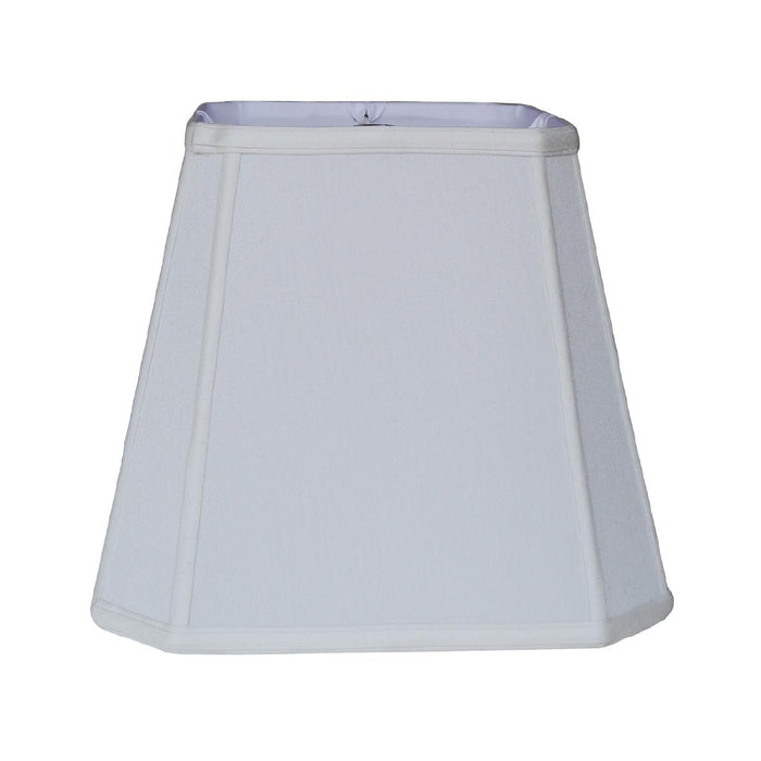 Wide Top Cut Corner Square Lampshade