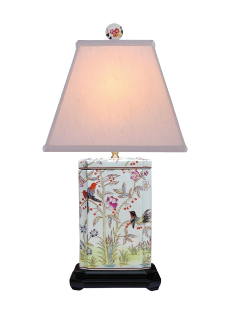 Porcelain Birdies Cambridge Table Lamp