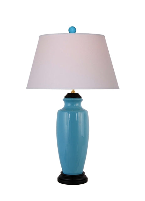 Turquoise Blue Table Lamp