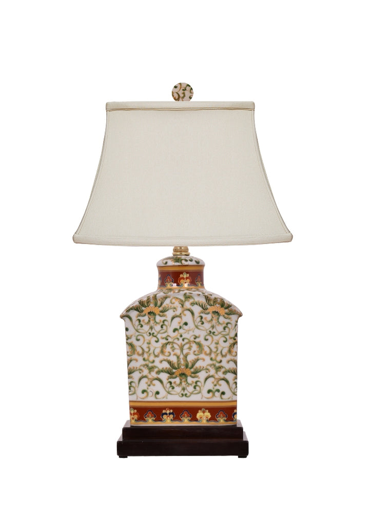 Porcelain Gold English Style Table Lamp