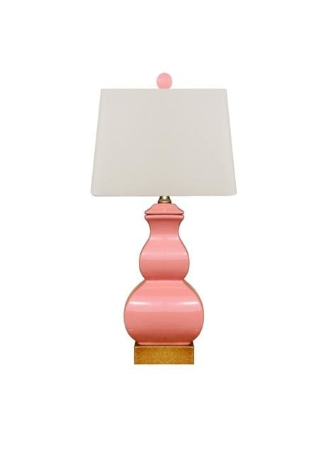 Pink Square Gourd Lamp Lighting
