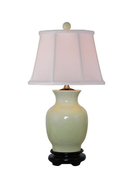 Porcelain Crackled Vase Lamp Lighting