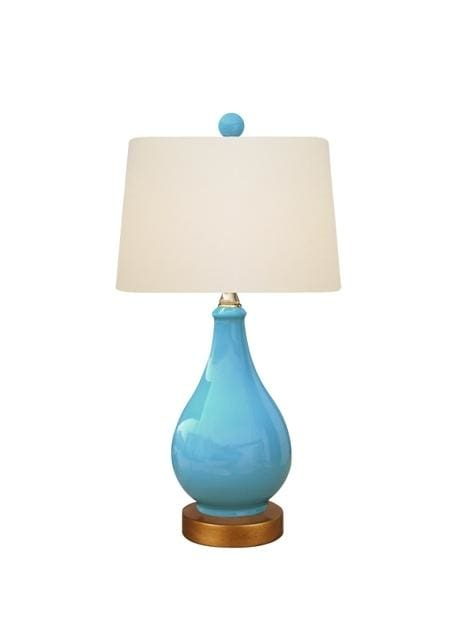 Turquoise Vase Lamp Lighting