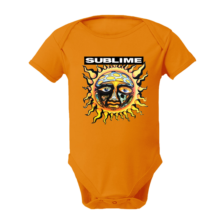 Sublime Sun Orange Onesie