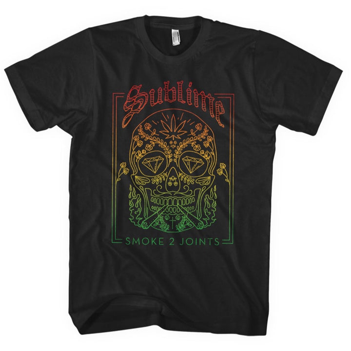Smoke 2 Joints Skull Tee