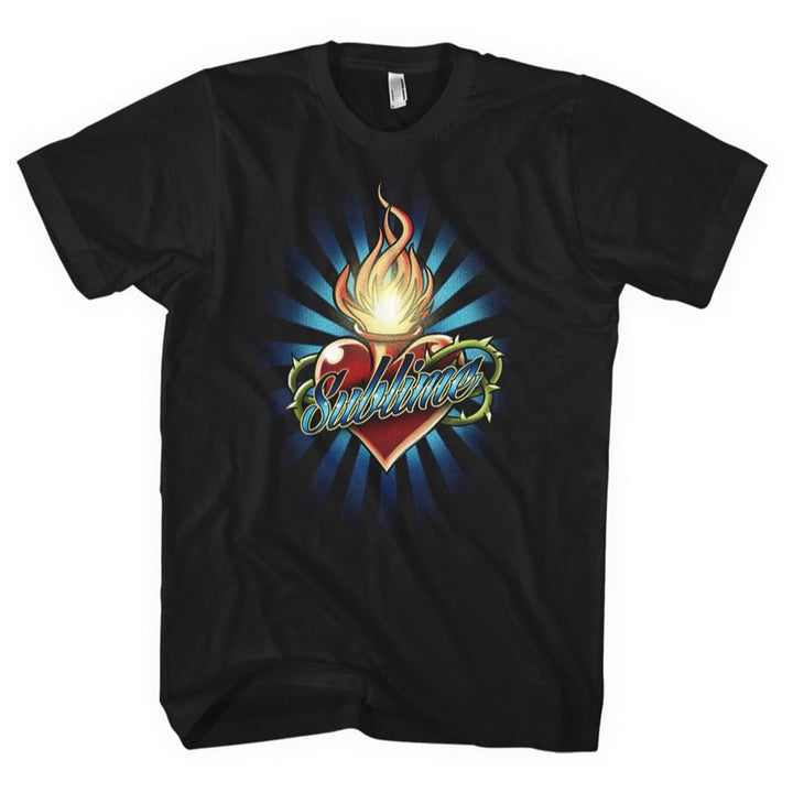 Torched Heart Unisex Tee