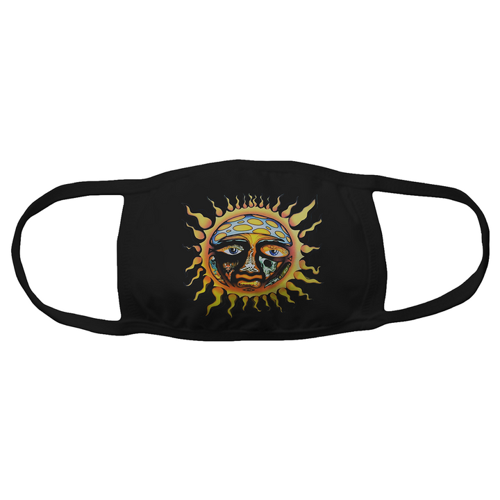 Sublime Sun Logo Face Mask