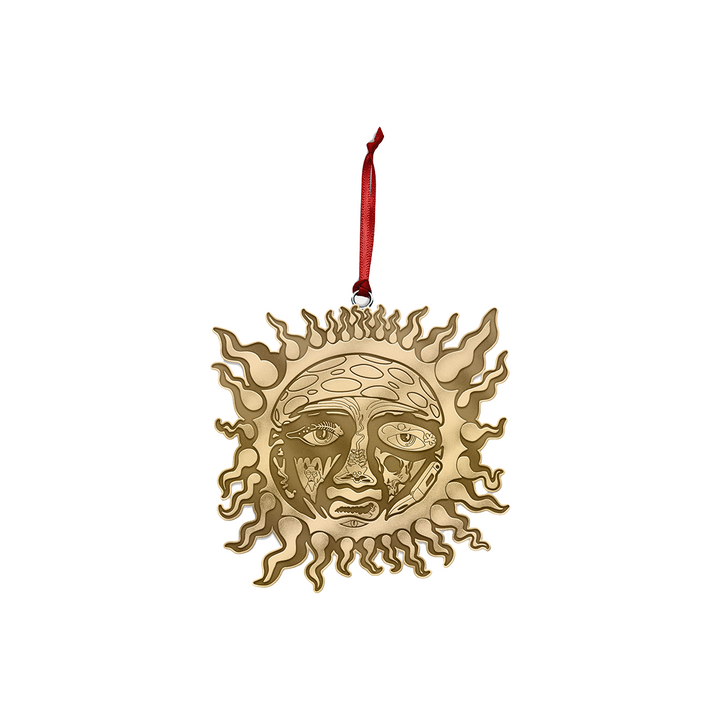 Gold Sublime Sun Ornament