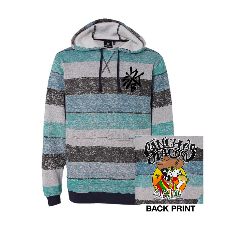 Sancho's Tacos Fleece Sweatshirt-Sublime