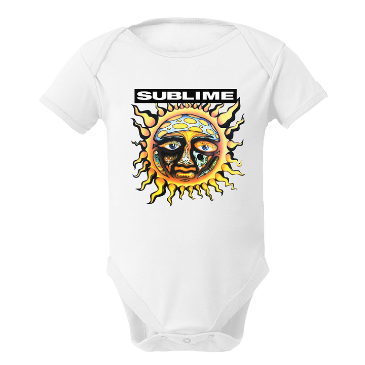 Sublime Sun White Onesie