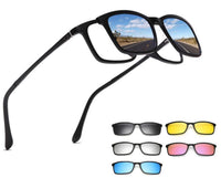 Magnetic Lens Polarized Sunglasses 5 in 1