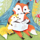 Fox Tales Father's Day Card (For Son)