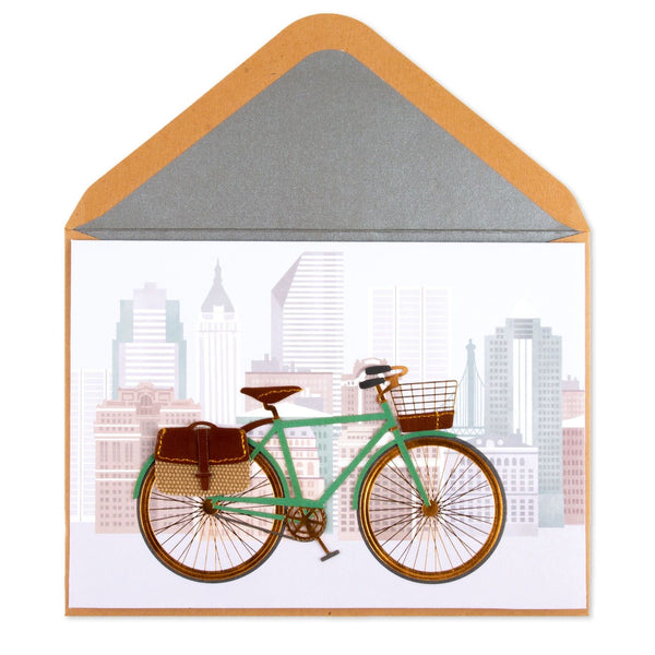 Urban Cyclist Father's Day Card