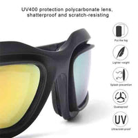 Polarised Anti-Dust Sunglasses 4 Lens Kit