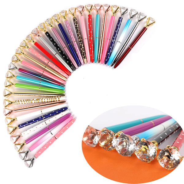Pen Diamond Multi Color Crystal Ballpoint