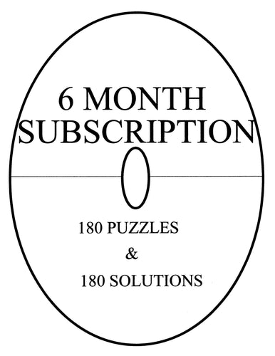 LindiPuzzle circular easy printable sudoku type puzzle subscription
