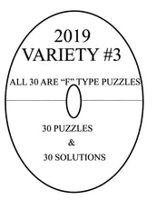 Load image into Gallery viewer, LINDI variety Printable circular or oval TYPE F sudoku logic puzzle