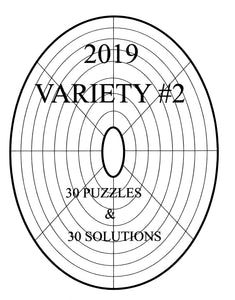 Easy Printable LINDI variety circular or oval sudoku logic puzzle