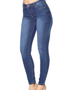 Classic Solid Jeans (Medium Wash)
