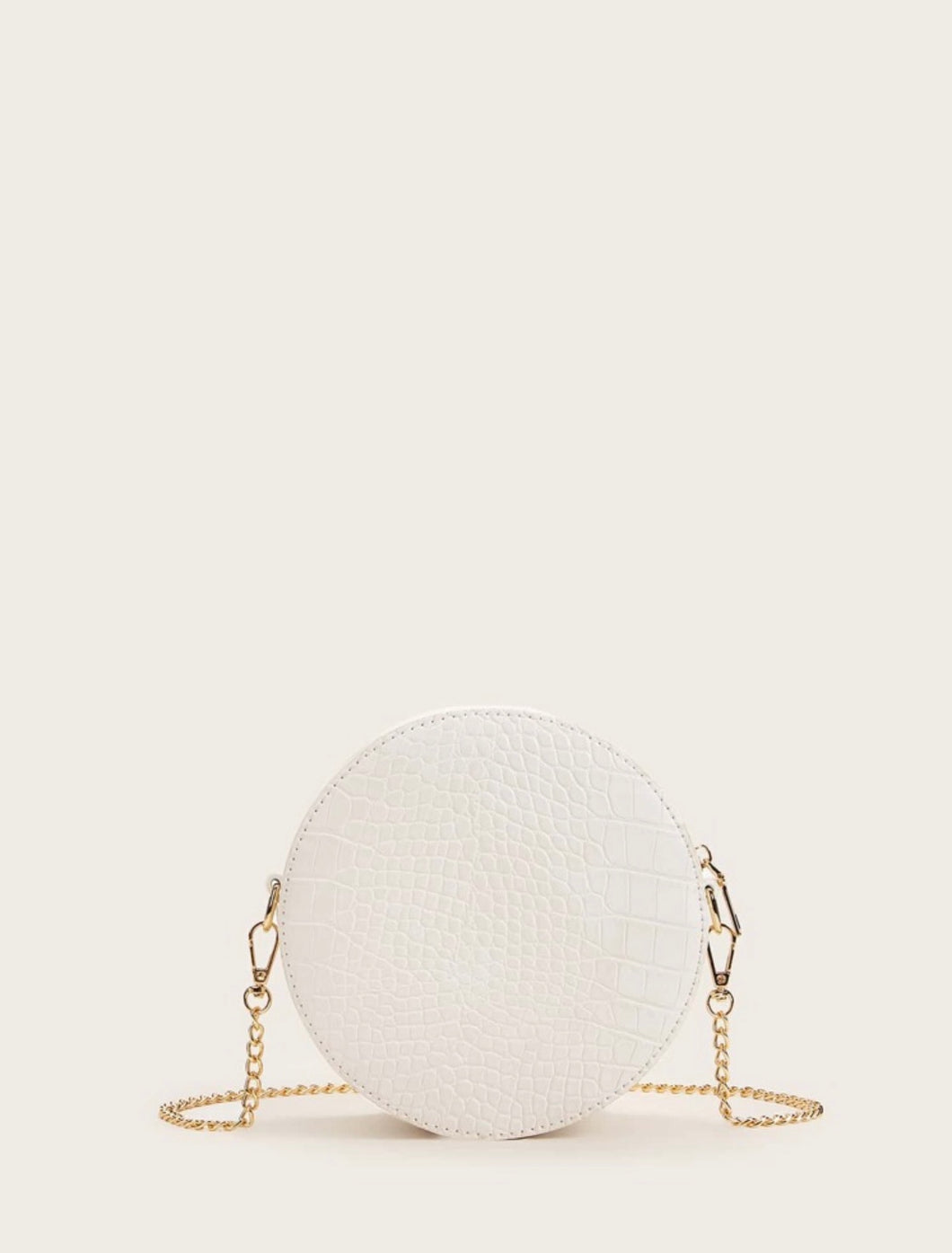 Erin Chain Bag (White)