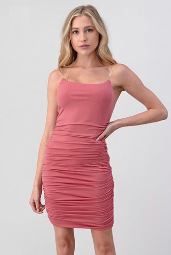 Jazlyn Dress (Mauve)