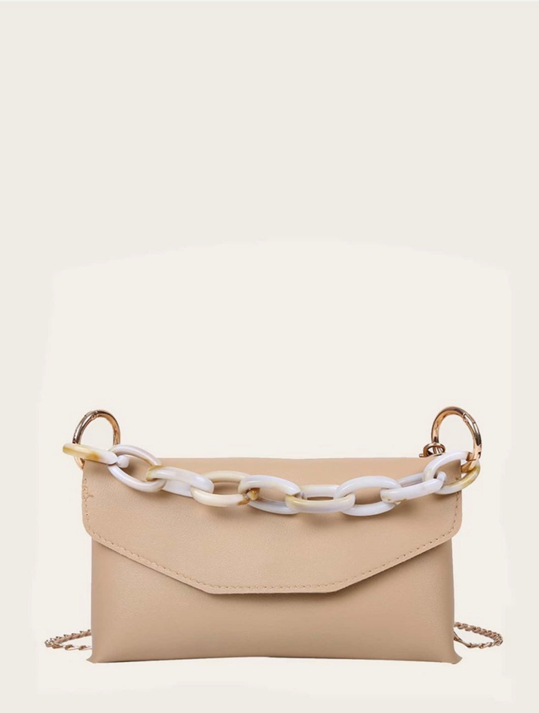 Yani Chain Bag (Beige)
