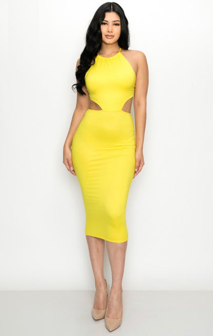 Emery Dress (YELLOW)