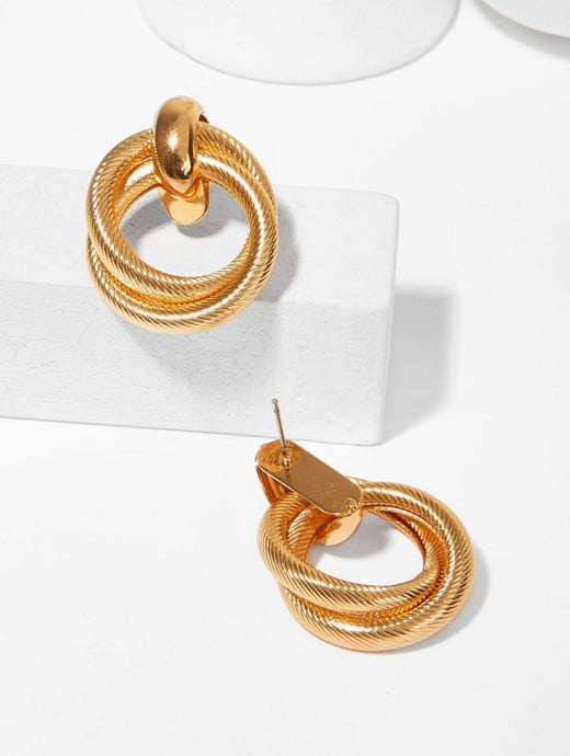 Double Stub Earrings
