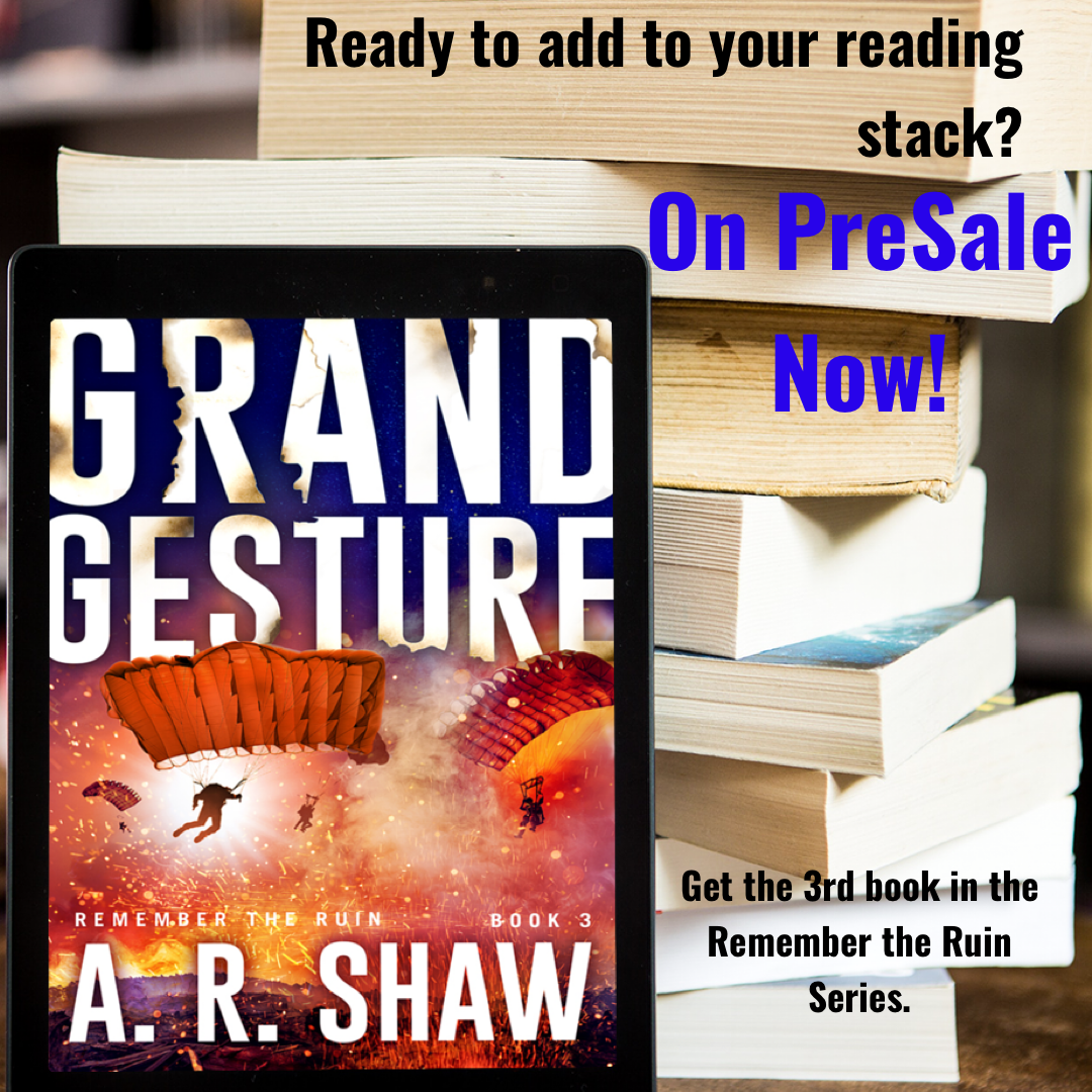 Grand Gesture, Book 3, Remember the Ruin Presale (Correct Link)😋