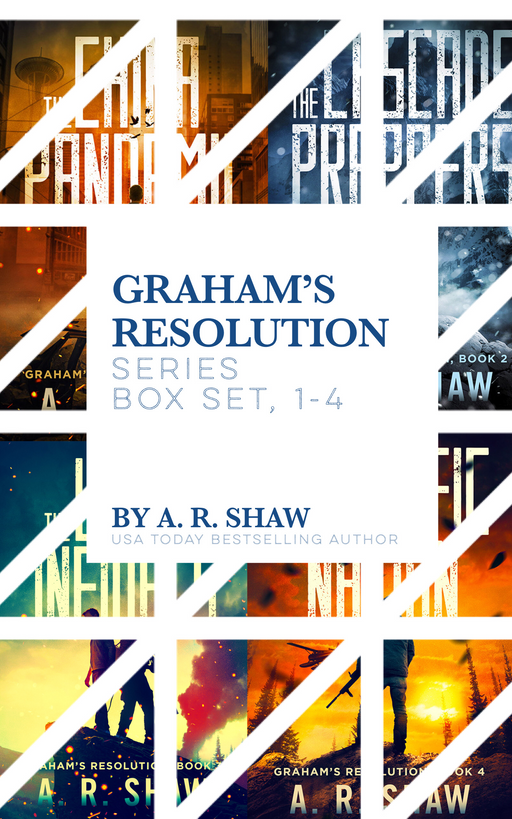 Graham's Resolution Box Set - Author AR Shaw