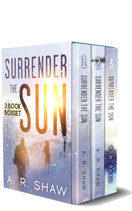 Surrender the Sun Box Set - Author AR Shaw